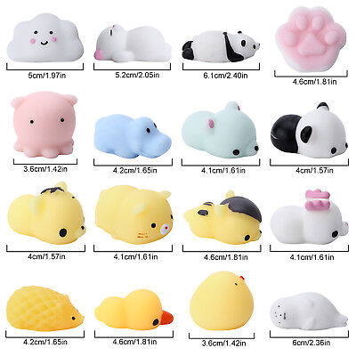 16Pc Animal Squishy Super Soft Slow Rising Squeeze Toy Pressure Relief Toy Adult