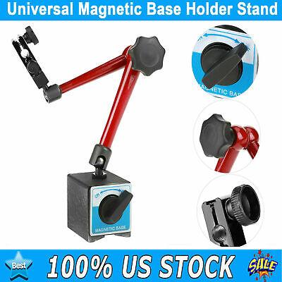 14 Adjustable Magnetic Base Holder Stand For Dial Test Gauge Indicator