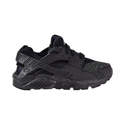 Nike Huarache Run SE Little Kids' Shoes Black-Black 859591-009