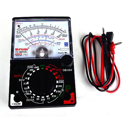 Yx-360tr N Analogue Meter Multimeter Multitester Fuse Diode Protection Dc Ac