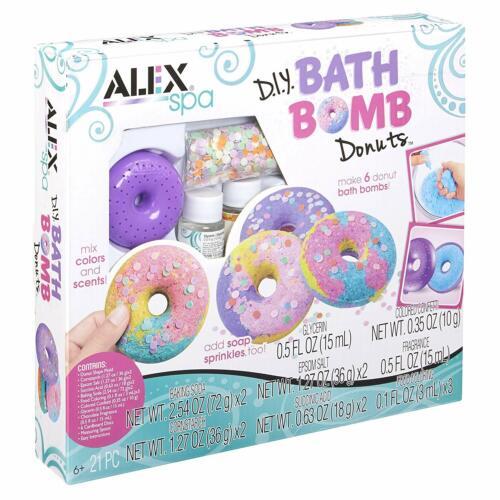 diy bath bomb donuts kit ingredients