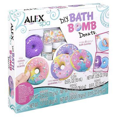 DIY Things For Kids Bath Bombs Kit Girls Donuts Bathbomb Cheap Spa Day Set Stuff - Cheap Girl Stuff