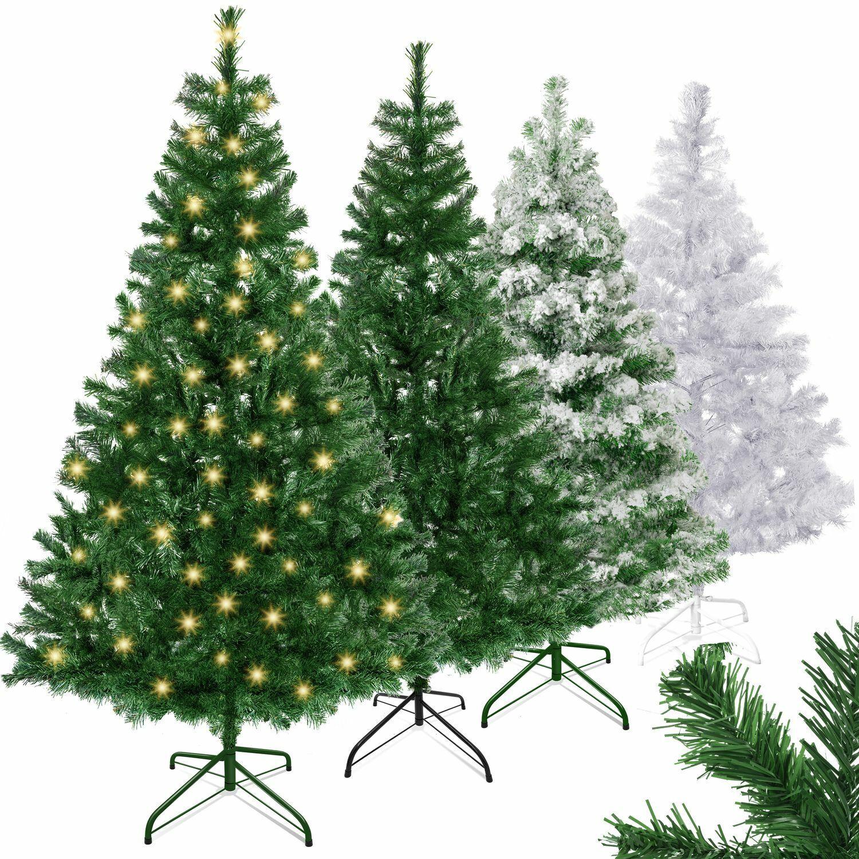 KESSER® Weihnachtsbaum künstlicher LED Christbaum Tannenbaum 120 150 180 210 240