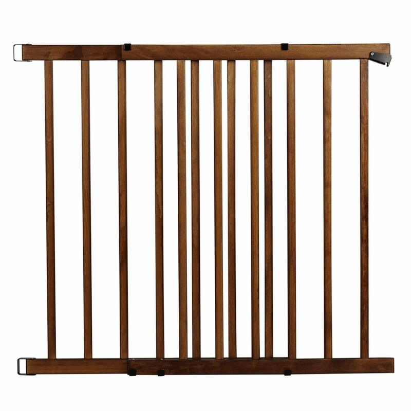 Evenflo Top of The Stair Extra Tall Hardware Mount Gate Dark