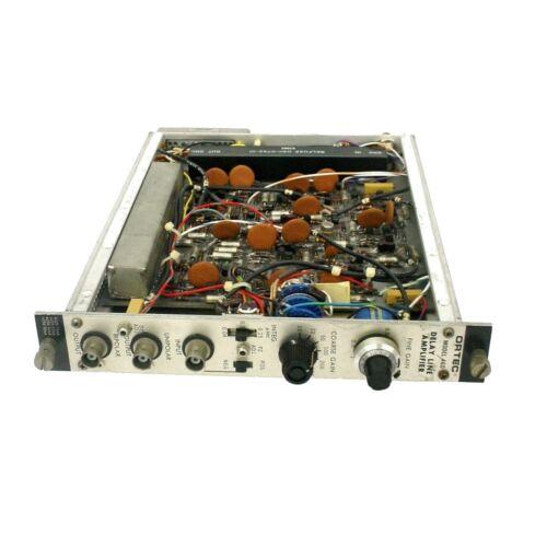 EG&G Ortec 460 Delay Line Amplifier Nim Bin Plug-In Module