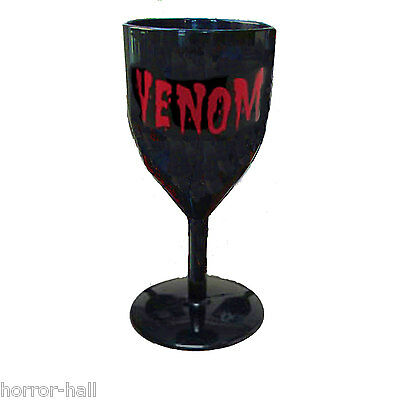 Venom Halloween Schwarz Gothic Becher Voodoo Requisite Mode Party Tasse Cocktail