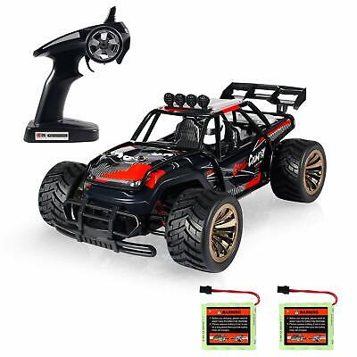 - 1:16 RC Car Off Road High Speed Racing Monster Truck With 2 Rechargeable Battery