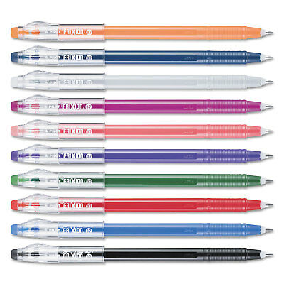 Pilot Frixion Colorsticks Erasable Gel Ink Pens Assorted 0.7 Mm 10pack 32454