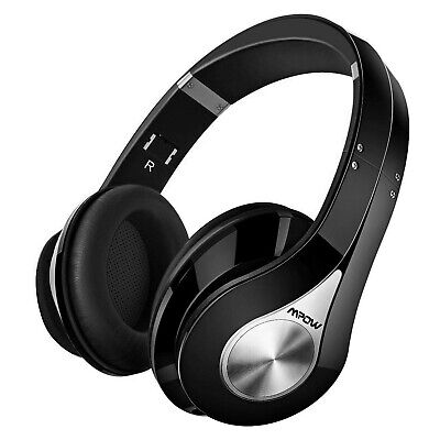 Bluetooth Over-Ear Wireless Headphones, Foldable, Soft Memory Protein EarPads