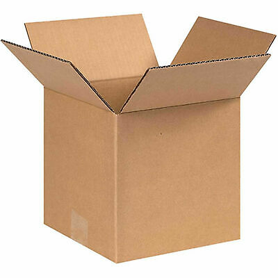 8 X 8 X 8 Cube Cardboard Corrugated Boxes 65 Lbs Capacity Ect-32 Lot Of 25