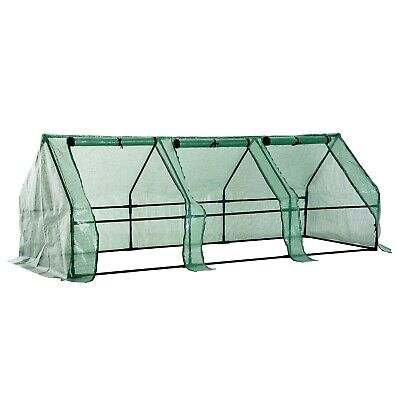 Polytunnel Greenhouse, Steel Frame, XS size