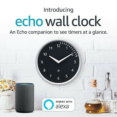 Amazon Echo Wall Clock - Requires compatible Echo Device