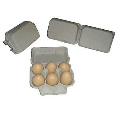 125 New Split 6 Paper Egg Cartons