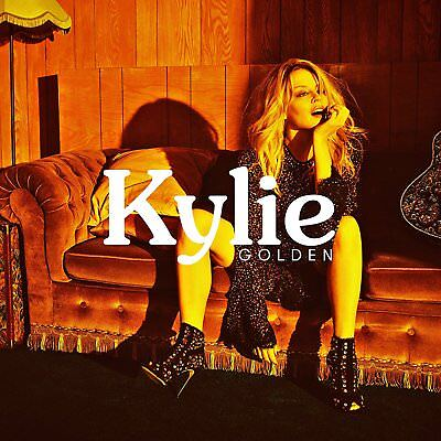 KYLIE MINOGUE GOLDEN DELUXE EDITION CD (A5 casebound book) NEW RELEASE 2018
