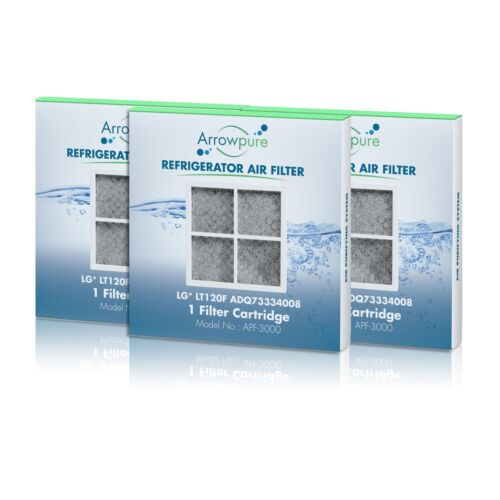 Arrowpure Refrigerator Air Filter Replacement for LG LT120F,