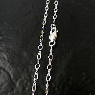 36 Inch .925 Sterling Silver 3x2mm Figure 8 Chain Necklace A