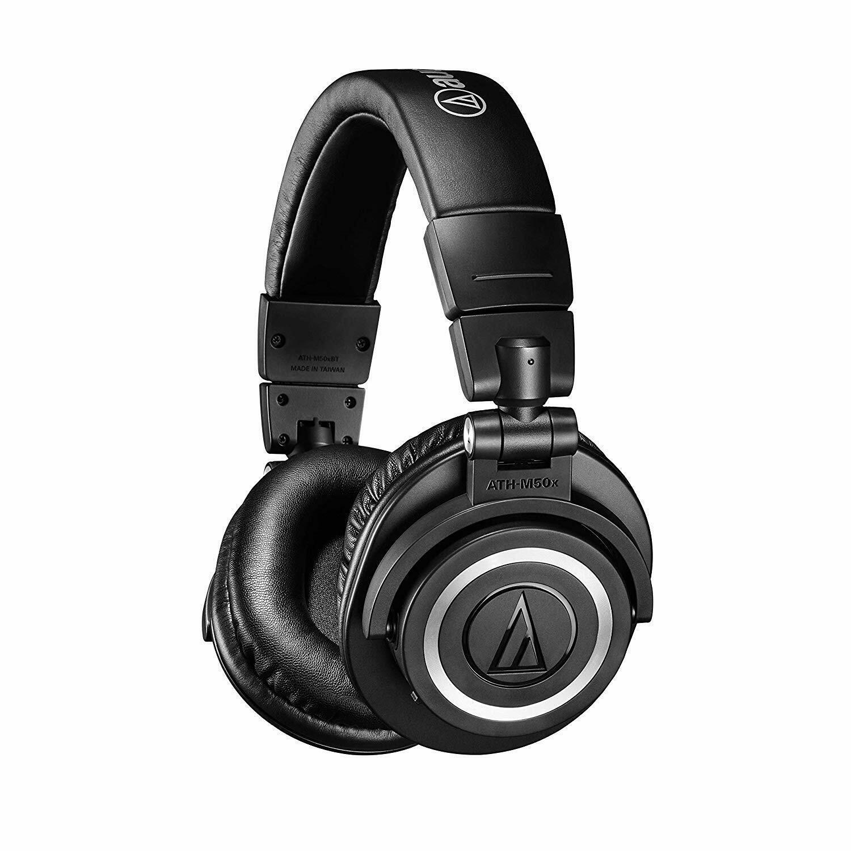 audio technica ath m50xbt wireless bluetooth over