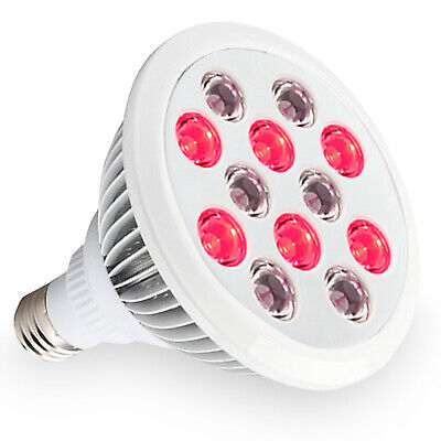 Red and Near Infrared LED Light Therapy Bulb 660nm 850nm 24W Anti-aging and Pain for sale  Shipping to Canada
