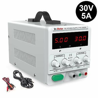 Dr.meter 30V/5A Variable Linear DC Bench Power Supply