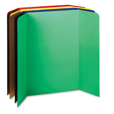 Pacon Spotlight Corrugated Presentation Display Boards 48 X 36 Assorted 4carton