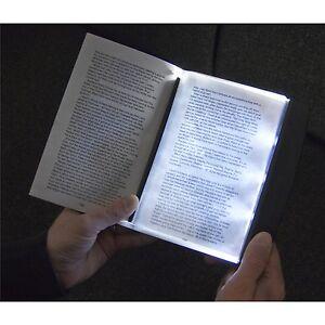 3 Super Bright LED Slim Page Reading Light Night Book Lamp Torch Soft Lighting