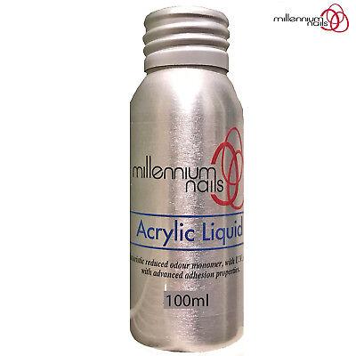 Millennium Nails 100ml Acrylic Liquid Monomer Free Form Sculpting Overlays/Tips