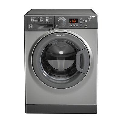 Hotpoint WMFUG742G Washing Machine, 7 kg Load, 1400 RPM Spin Speed - Graphite