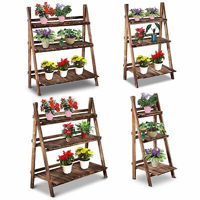 Pflanzentreppe Blumentreppe Blumenbank Pflanzregal Ständer 3 Stufen