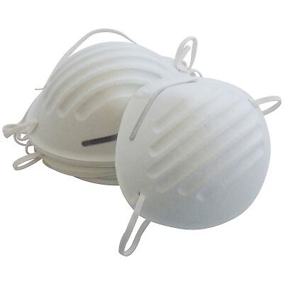 DISPOSABLE NUISANCE LIGHTWEIGHT DUST SAFETY MASK WITH ELASTIC STRAP PAINTING ETC