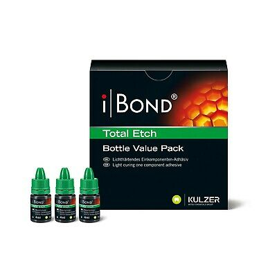 Ibond Total Etch Adhesive Bottle Value Pack By Heraeus Kulzer Fresh