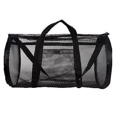 Dive Bag - Heavy Duty Mesh Duffel Bag, Features Storage Pouch for Diving, Scuba
