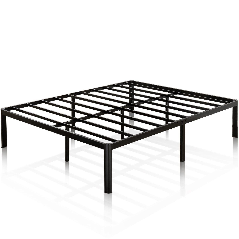 Zinus Van 16 Inch Metal Platform Bed Frame with Steel Slat S