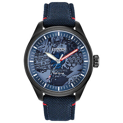 Citizen Men's Eco-Drive Marvel Heroes Limited Edition 43mm Watch AW2037-04W