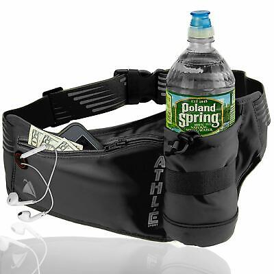 Athlé Running Fanny with Water Bottle Holder - Adjustable R
