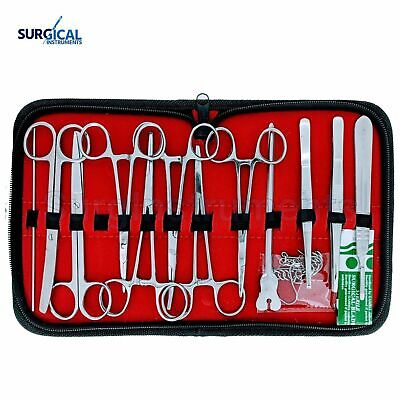 24 Us Military Field Style Medic Instrument Kit - Medical Surgical Nurse Doctor