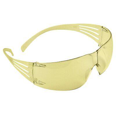 3m Safety Glasses Securefit Ansi Z87 Anti-fog Anti-scratch Amber Lens Yellow