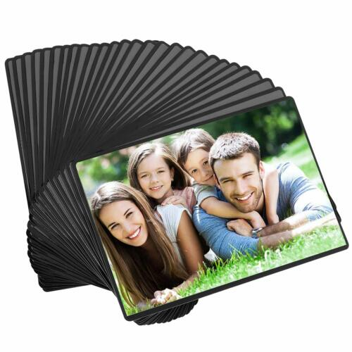 15/30 Pack Magnetic Picture Frame Photo Holder + Clear Pocke