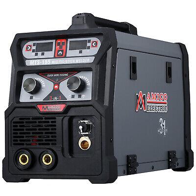 Amico Mts-185 Amp Migtigstick Arc 3-in-1 Combo Welder 115v230v Dual Voltage