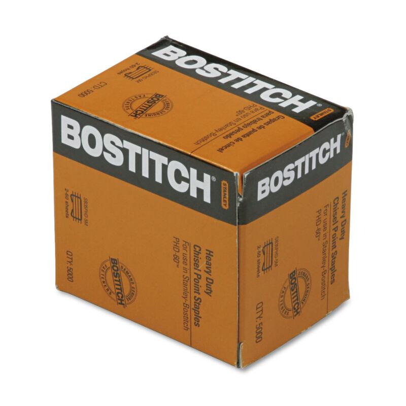 """Bostitch Heavy-Duty Premium Staples 3/8"""" Leg Length 5000/Box SB35PHD5M"""