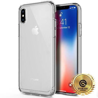 (OBLIQ® iPhone Xs, X [Naked Shield] Clear Case Cover Tough Bumper Slim Fit 10,10s)