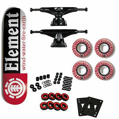 "Element Skateboard Complete Section 7.75"" Tensor Trucks Element 53mm Wheels"