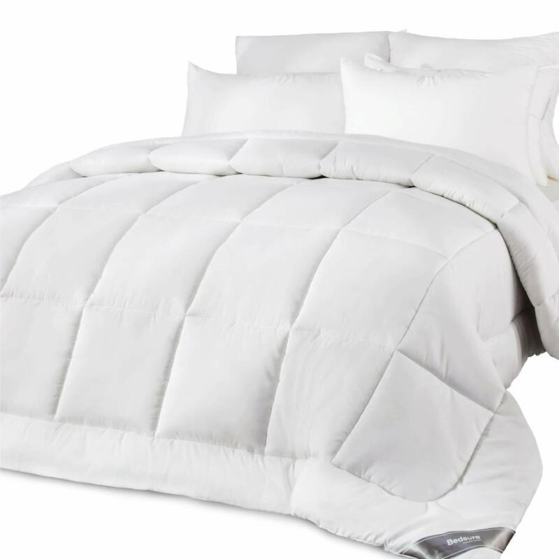 Bedsure King Comforter  All-Season Lightweight Down Alternat