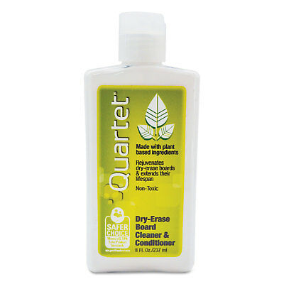 Quartet Whiteboard Conditionercleaner For Dry Erase Boards 8 Oz Bottle 551