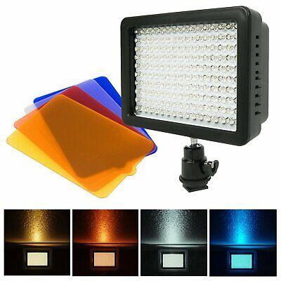 Bright 160 LED Studio Video Light for Canon Nikon DSLR Camer