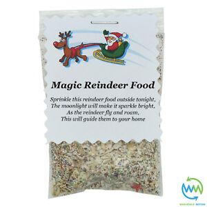Magic REINDEER FOOD Magical CHRISTMAS EVE DUST Kids Activity SANTA Tradition NEW