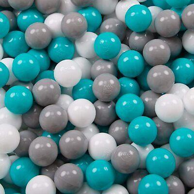 KiddyMoon 500 ∅ 6Cm Bolas Colores De Plástico para Piscina Certificadas para...