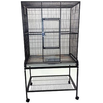 A&E Cage Co flight cage and stand - Slightly used!