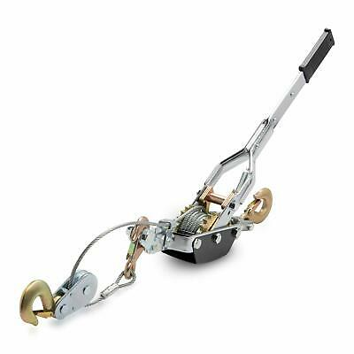 Neiko 2 Ton Come A Long Leveler 2 Solid Gears 3 Hooks Puller