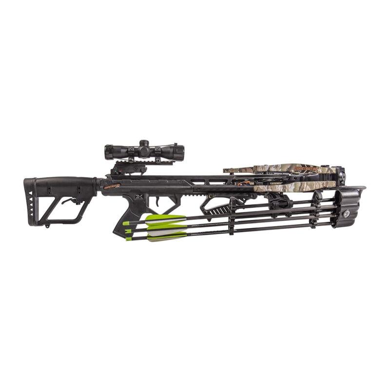 Bear Archery Bear X 410 FPS Constrictor CDX Crossbow True Timber Strata