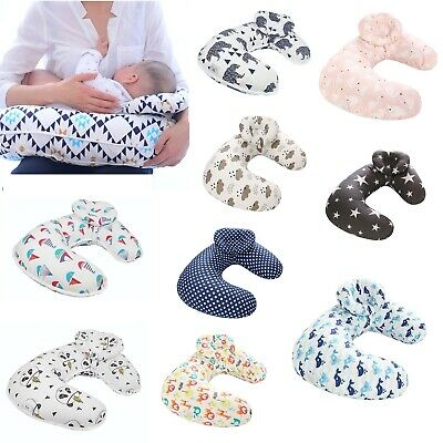 Newborn Baby U-Shape Maternity Breastfeeding Nursing Support Pillow Detachable